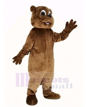 Woody Woodchuck Mascot Costume Animal