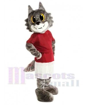Super Lovely Wolf Mascot Costume