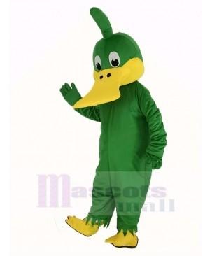 Green Duck Mascot Costume