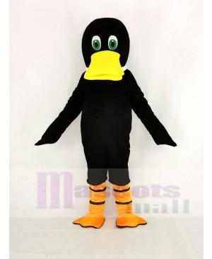 Black Duck Duckbill Mascot Costume Animal