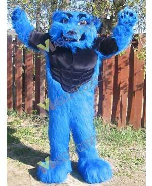 High Quality Adult Sport Team Blizzard Mascot Costume