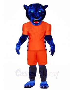 Blue Panther Mascot Costumes Animal