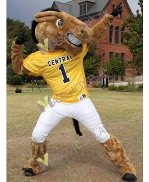 New Central's Buddy Broncho Horse Mascot Costume