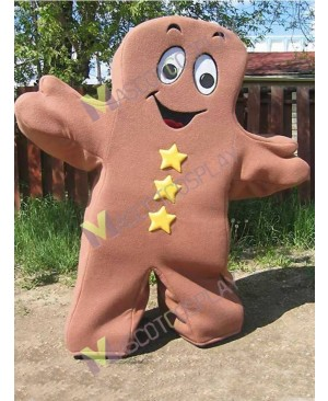 High Quality Adult Brown Chewy Mascot Costume