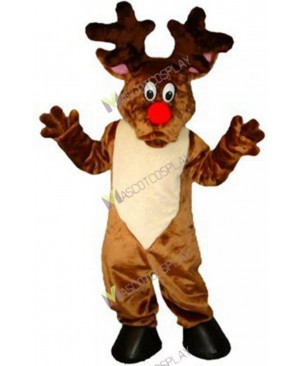 High Quality Adult Christmas Reindeer Mascot Costume