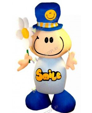 High Quality Adult Clinton Cards Smile Character Mascot Costume