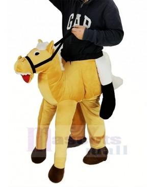 Piggyback Pony Carry Me Ride on Horse Mascot Costume