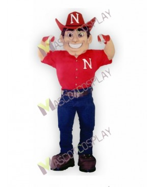 High Quality Adult Nebraska Cornhuskers Herbie Husker Mascot Costume