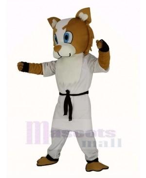 Boxing Dog Mascot Costume Adult