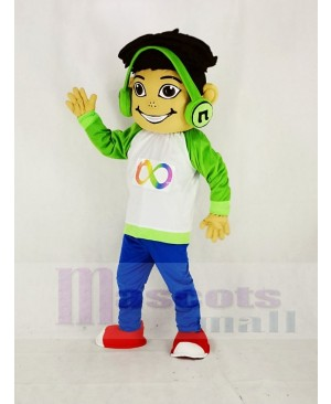 Musical Freckles Boy Mascot Costume