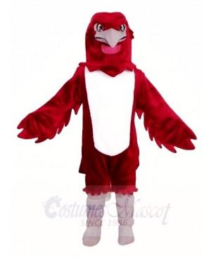 Burgundy Eagle Falcon Mascot Costumes Animal