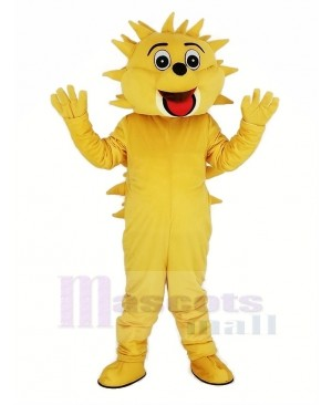 Light Brown Hedgehog Mascot Costume Animal
