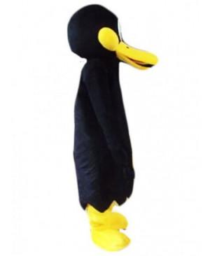 Black Cartoon Daffy Duck Mascot Costume
