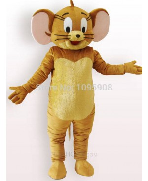 High Quality Jerry Rat Mascot Costume Tom and Jerry Mouse Mascot Costume Adult Party Carnival Christmas Mascot Free Shipping