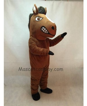 Fierce New Mustang Horse Mascot Costume
