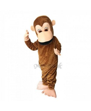 New Lovely Monkey Costume Mascot