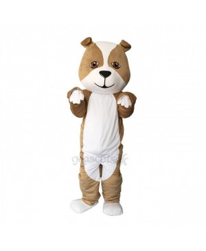 New Strong Grey British Bulldog Mascot Costume