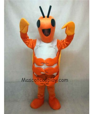 Hot Sale Adorable Realistic New Popular Professional New Adult Orange Crab Mascot Costume
