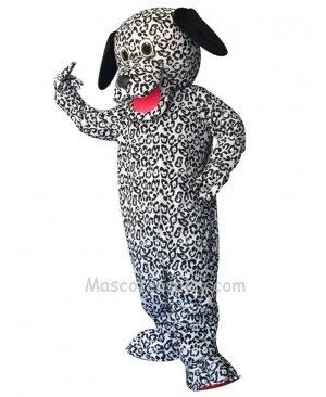 Cute Dalmation Dog Long Ears Mascot Costume