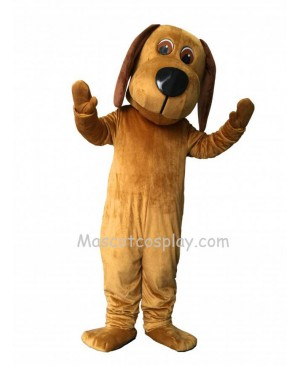 New Tan Long Ears Dog Mascot Costume