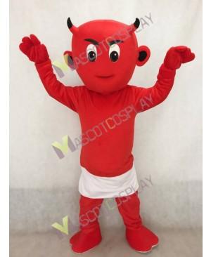 Red Lil Devil Mascot Costume