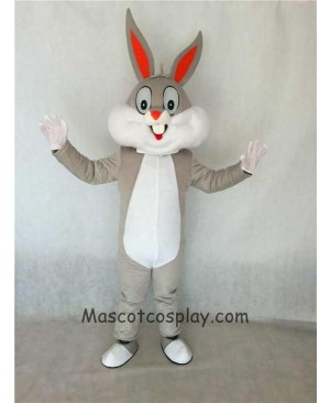 Cute Easter Bugs Bunny Rabbit Mascot Costume Adult Party Carnival Halloween Christmas