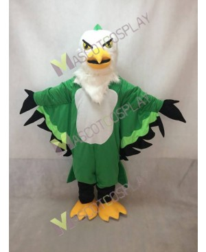 Realistic Adult Custom Color Green Thunderbird Mascot Costume