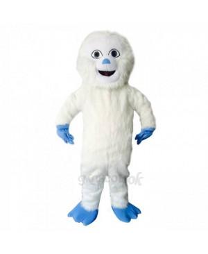 New Blue Hands Yeti Mascot Bigfoot Costume