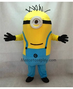 High Quality Despicable Me Minions One Eye Mascot Costume A
