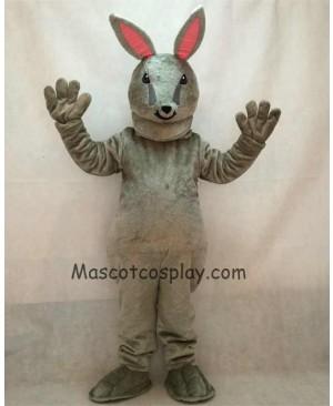 High Quality Easter Jack Bunny Grey Rabbit Mascot Costume