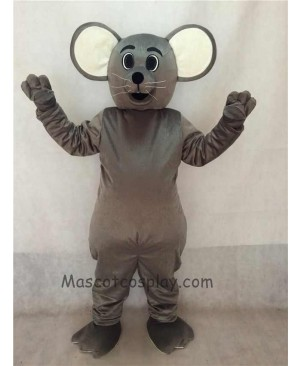 High Quality Grey Christopher Mouse Mascot Costume