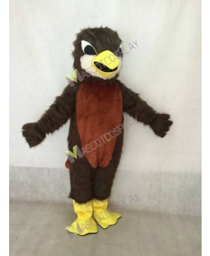 Cute Redd Robin Mockingbird Mascot Costume