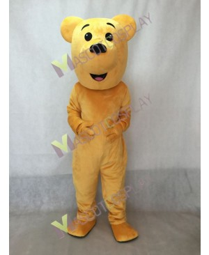 Tan Toy Bear Mascot Costume