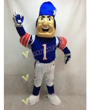 New England Patriots Adult Mascot Costume