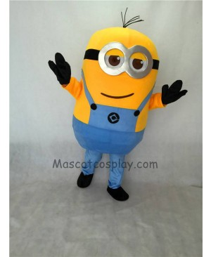 Cute Two Eyes Despicable Me Minions Mascot Costume D