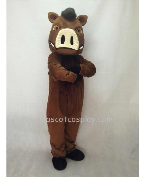 Fierce New Wild Boar Pig Hog Mascot Costume