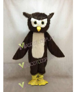New Brown Owl Plush Mascot Costume