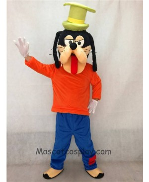 Cute Goofy Dog Adult Mascot Costume