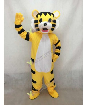 High Quality Adult Little Tiger Black Stripes Mascot Costume