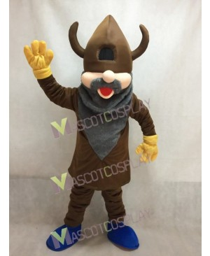 Madcap Viking with Royal Blue Shoes Mascot Costume