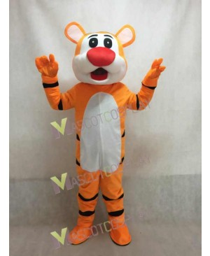 Yellow Tiger Mascot Costume