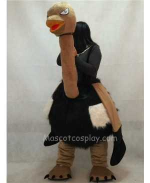 High Quality Adult New Ostrich Walker Mascot Costume