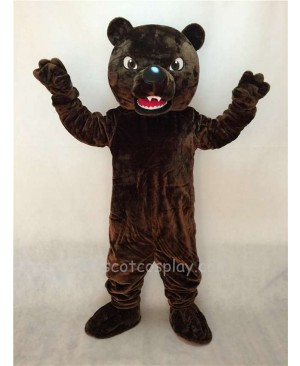 Fierce Brown Grizzly Bear Mascot Costume