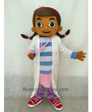 Cute Doc McStuffins Doctor Dottie Adult Party Halloween Carnival Mascot Costume
