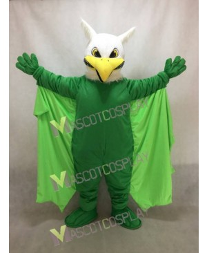 Green Griffin Mascot Costume