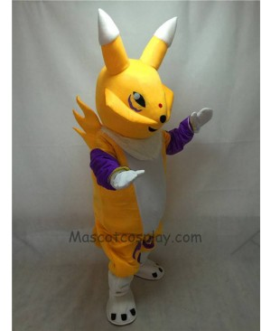Fierce Yellow Digimon Frontier Mascot Costume