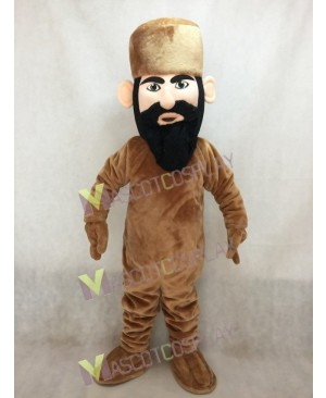 Light Brown Mountain Man Mascot Costume