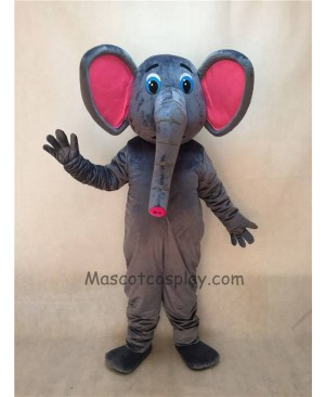 Cute New Asian Elephant Mascot Costume