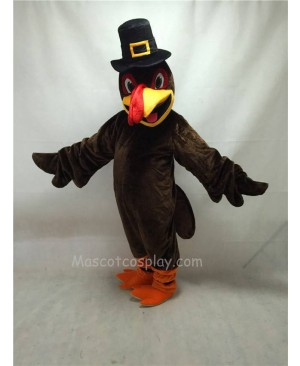Cute Thanksgiving Turkey Mascot Costume with Hat