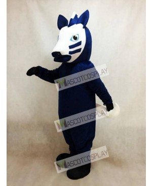Trojan Horse in Blue Mascot Costume